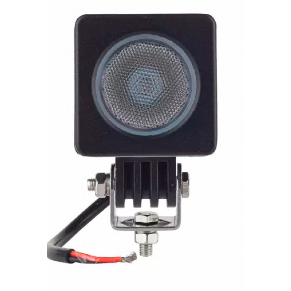 Светодиодная фара Off-Road, 1х10W (Cree LED), рассеиваемый свет, 50*60*50мм, 9-32v