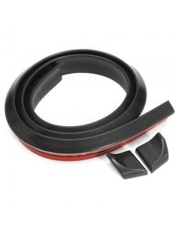 Спойлер резиновый универс. черный 1,5мх4,5см