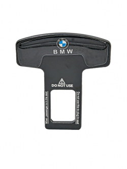 Заглушка ремня безопасности металл с логотипом BMW