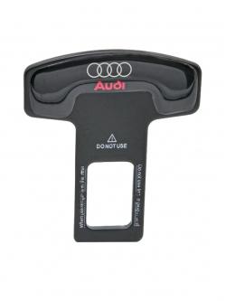 Заглушка ремня безопасности металл с логотипом Audi