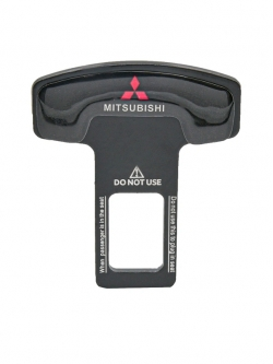 Заглушка ремня безопасности металл с логотипом Mitsubishi