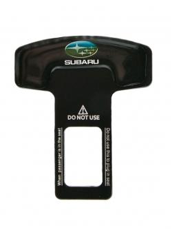 Заглушка ремня безопасности металл с логотипом Subaru