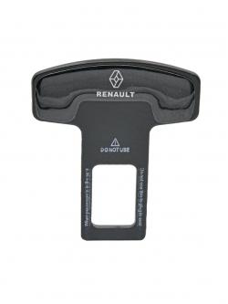 Заглушка ремня безопасности металл с логотипом Renault