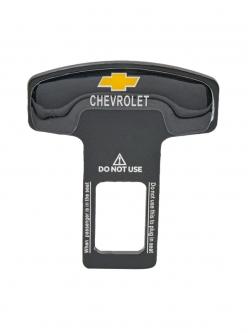 Заглушка ремня безопасности металл с логотипом Chevrolet