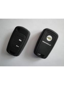 Чехол силиконовый для ключа зажигания Chevrolet: New Epica, New Sail