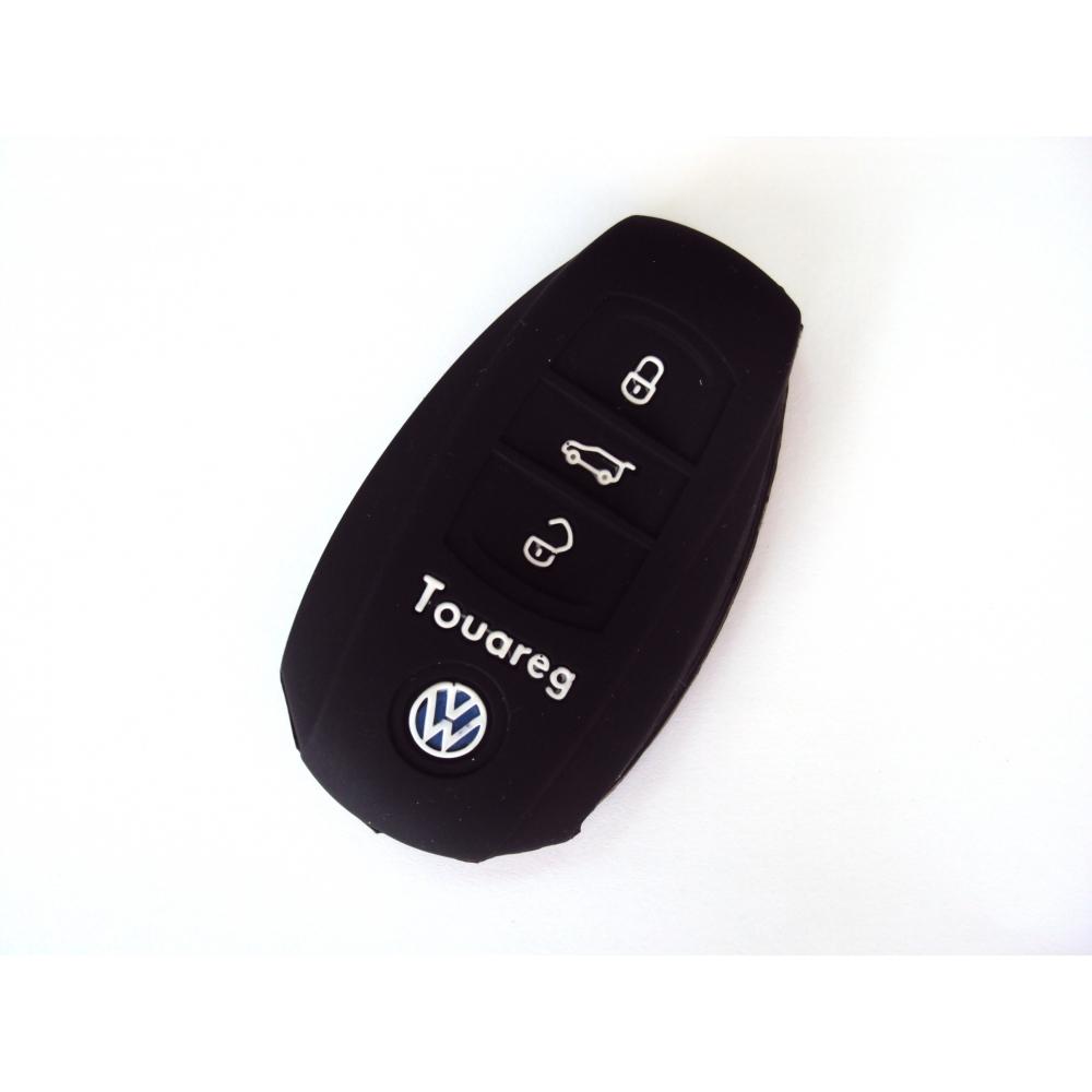 Чехол силиконовый для ключа зажигания Volkswagen New Touareg