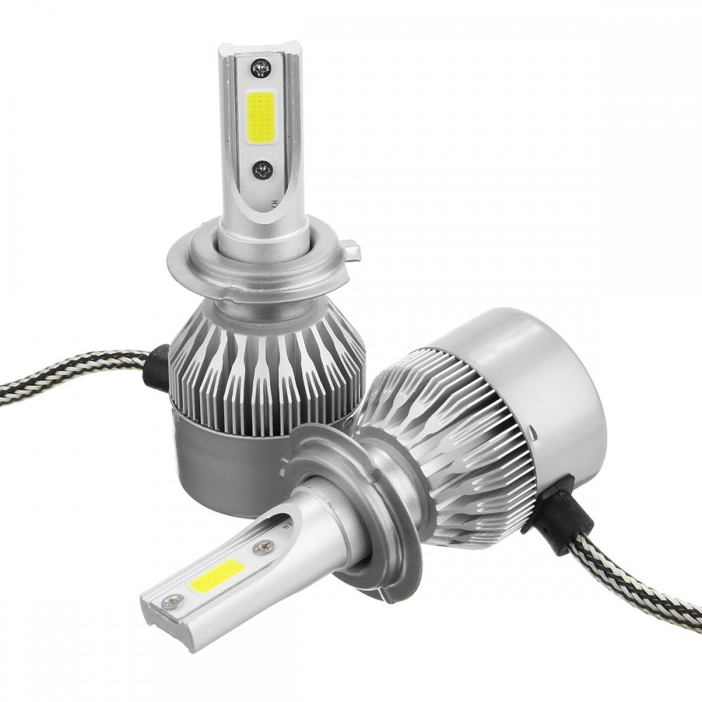 Лампы LED C6 HB4(9006) 6000k (2шт)