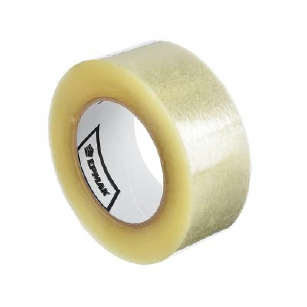 Скотч (клейкая лента) прозрачный 48ммх180м