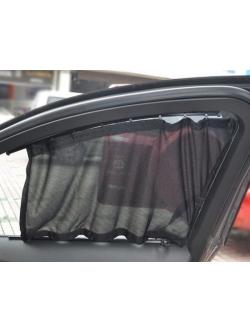 Шторки в салон авто с пластик.направляющими 70L
