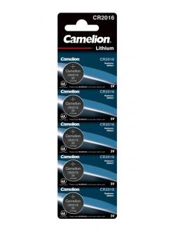 Батарея CR 2016 3V Camelion