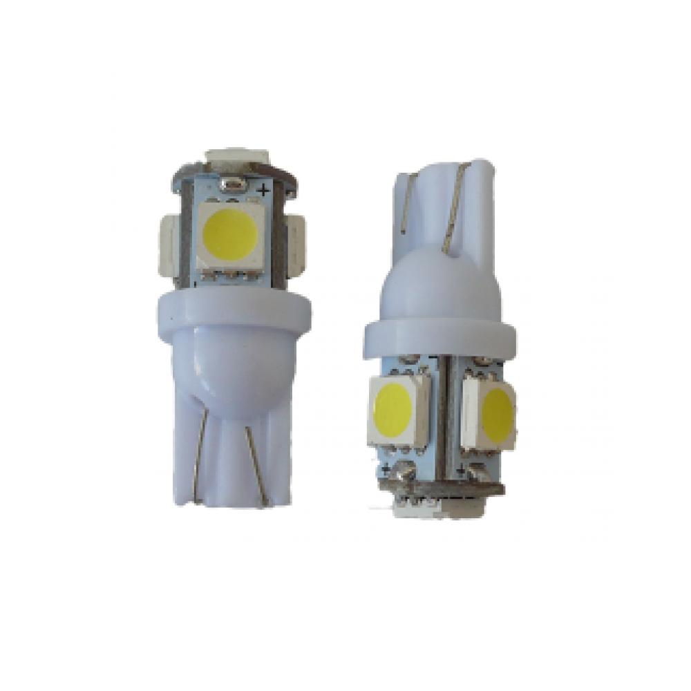 Лампа светодиодная Т10 5050 5SMD