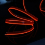 Неоновая лента Красная с плавником 3м + инвертор в прикуриватель