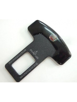 Заглушка ремня безопасности металл с логотипом Fiat