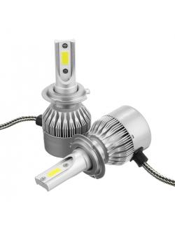 Лампы LED C6 HB4(9006) 5500k (2шт)