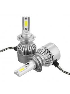 Лампы LED C6 HB3(9005) 5500k (2шт)