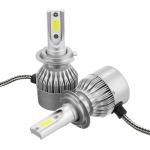 Лампы LED C6 H4 5500k (2шт)