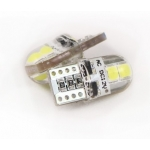 Лампа светодиодная Т10 SMD4 (3030) в силиконе, обманка
