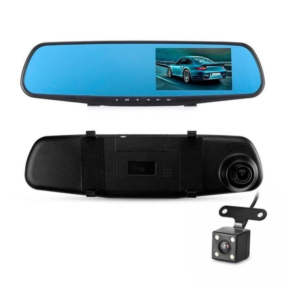 Видеорегистратор в зеркале с камерой заднего вида BH106L