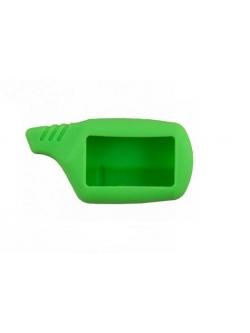 Чехол на пульт сигнализации силиконовый салатовый B9, A91