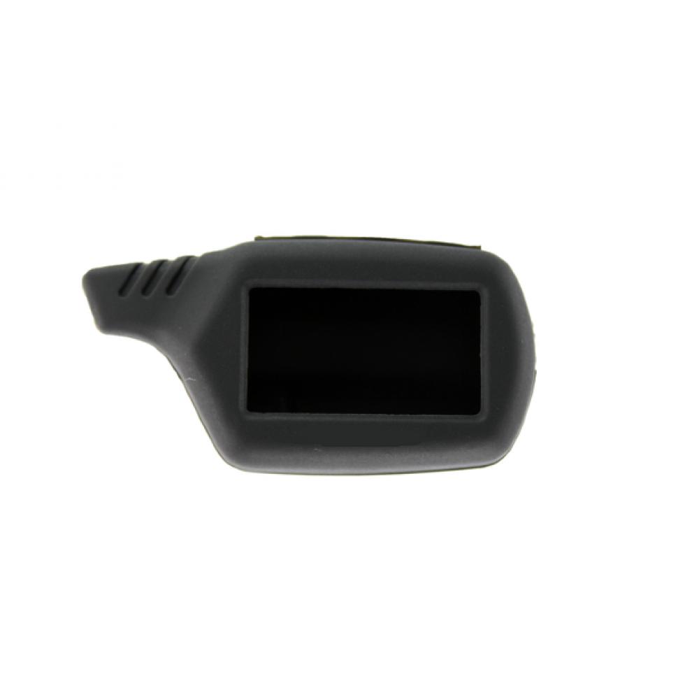 Чехол на пульт сигнализации силиконовый черный B9, A91