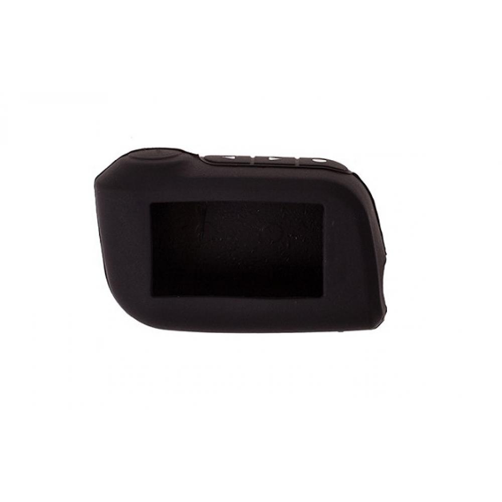 Чехол на пульт сигнализации силиконовый черный A93