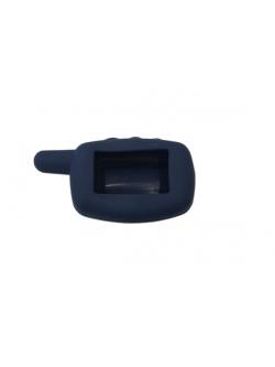 Чехол на пульт сигнализации силиконовый темно-синий A9