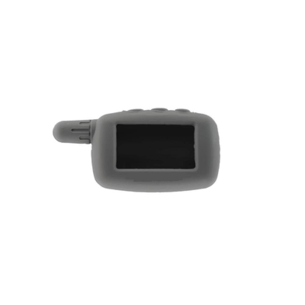 Чехол на пульт сигнализации силиконовый серый A9