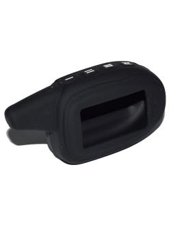 Чехол на пульт сигнализации силиконовый черный М7/8 (совместим с Scher-khan Magicar 7/8)