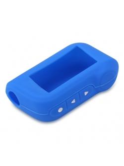 Чехол на пульт сигнализации силиконовый голубой A93