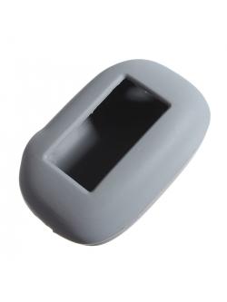 Чехол на пульт сигнализации силиконовый серый B92