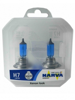 Лампа Narva Н7 12v (85w) Range Power White (2шт+2шт W5W)