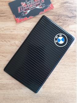 Наноковрик с логотипом 15 х 9 см BMW