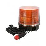Проблесковый маячок светодиодный оранжевый, на магните