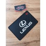 Наноковрик с большим логотипом 19 х 13 см Lexus