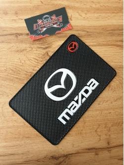 Наноковрик с большим логотипом 19 х 13 см для а/м Mazda