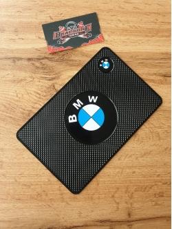 Наноковрик с большим логотипом 19 х 13 см для а/м BMW