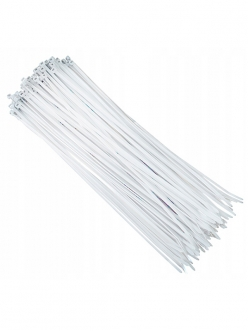 Хомут-стяжка 3,6х200мм белый (100шт)