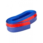 Резина для отделки бампера авто синий карбон 2,5мх5,5см
