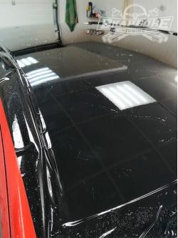 Антигравийная гибридная полиуретановая пленка Solarnex Magnum Hybrid BLACK GLOSS