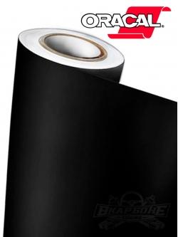 Пленка Oracal 641 070 черная матовая, ширина 1м