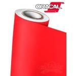 Пленка Oracal 641 031 красная матовая, ширина 1м