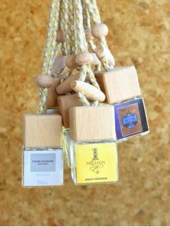 Автопарфюм (бутылочка с деревян.крышкой) Paco Rabbane 1 million