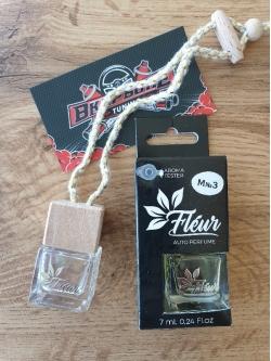 Автопарфюм Fleur (бутылочка с деревян.крышкой) m11 Wild Man