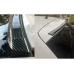 Спойлер резиновый универс. черный карбон 1,5мх3,5см