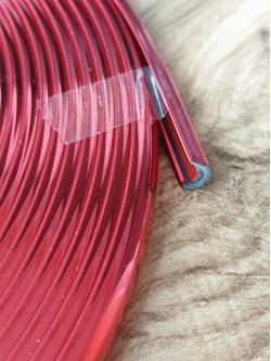 Кант красный U - образный самоклеящийся