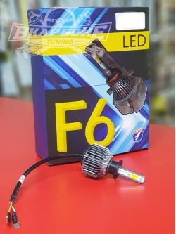 Лампы LED F6 H3 4300k (2шт)