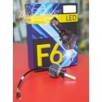 Лампы LED F6 H7 4300k (2шт)