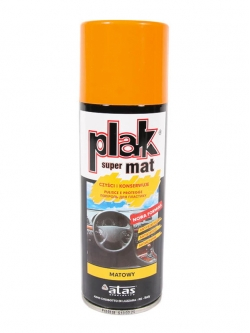 PLAK-Полироль для панели спрей Апельсин матовая 200мл