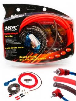 "Набор кабелей для сабвуфера ""MDK"" MD-A68G"