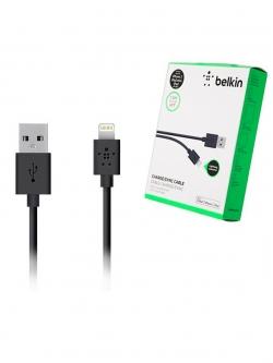 Кабель USB разъем-Apple Lightning, 1,2метра, черный BELKIN